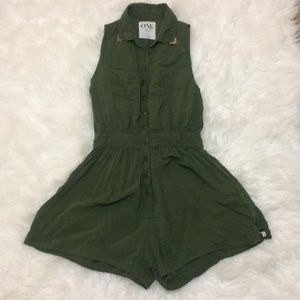 One Teaspoon Women Sleeveless Romper